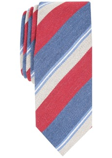 Penguin Men's Lykken Stripe Skinny Tie