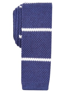 Penguin Men's Okerlund Skinny Stripe Knit Tie