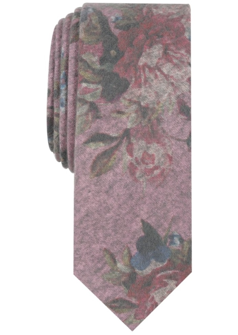 Original Penguin Penguin Men's Townley Floral Skinny Tie