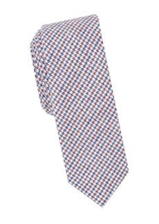 Penguin Norrall Houndstooth Tie