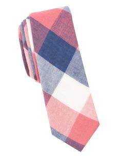 Penguin Panatta Check Cotton Tie