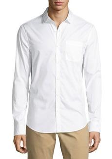 Penguin Penny-Collar Patch-Pocket Shirt