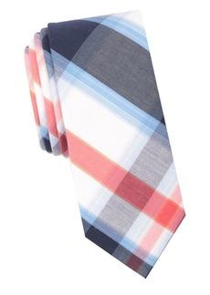 Penguin Plaid-Print Tie