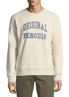 Penguin Printed Logo Crewneck Sweater