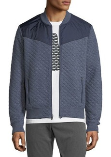 Penguin Quilted Track Jacket