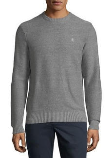 Penguin Ribbed-Knit Cotton Sweater