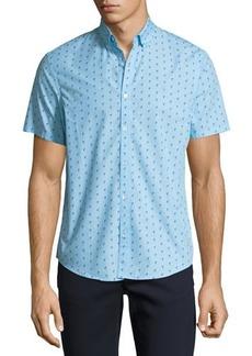 Penguin Slim-Fit Flamingo Short-Sleeve Sport Shirt