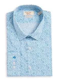 Penguin Slim Fit Floral-Print Dress Shirt