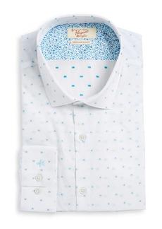 Penguin Slim Fit Printed Dress Shirt