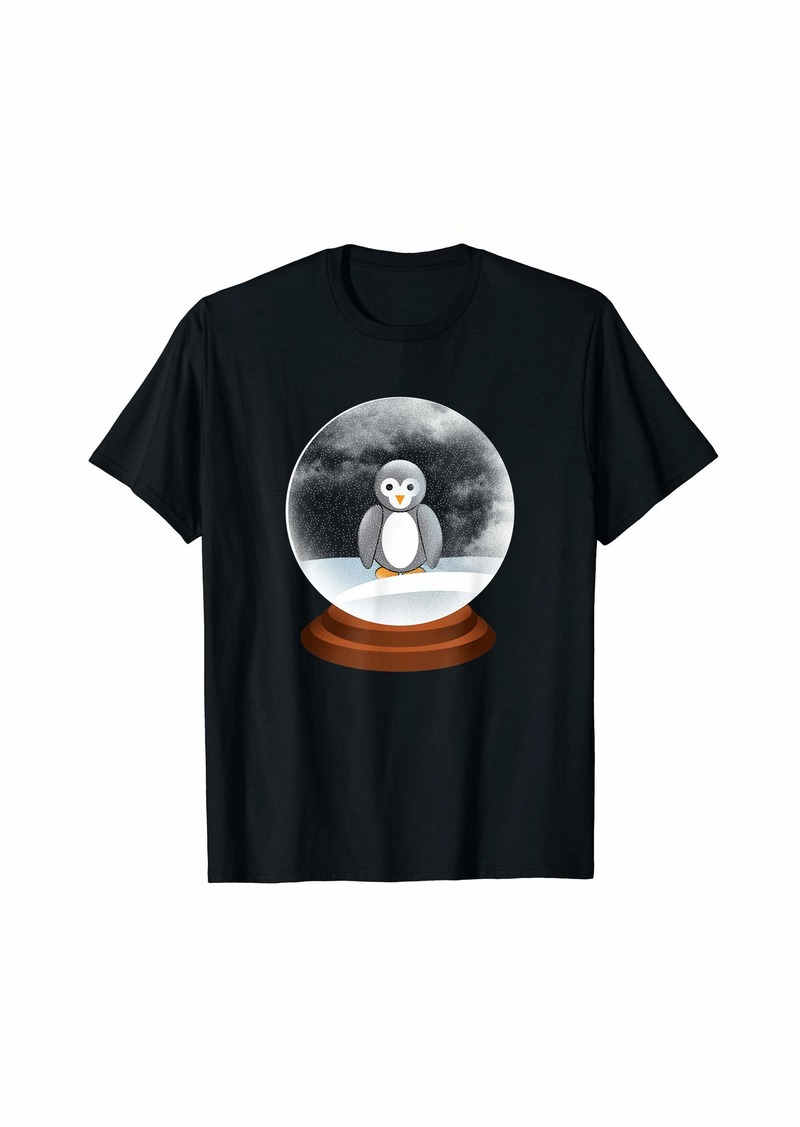 Penguin Snow Globe T-Shirt