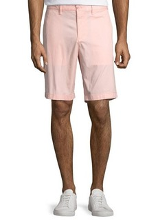 Penguin Straight-Fit Stretch-Cotton Shorts