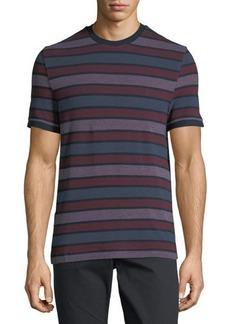 Penguin Striped Birdseye-Knit Short-Sleeve T-Shirt