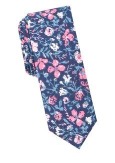 Penguin Sydney Floral Cotton Tie