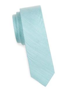 Penguin Textured Cotton Tie