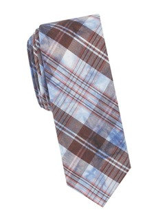 Penguin Tumer Plaid Tie