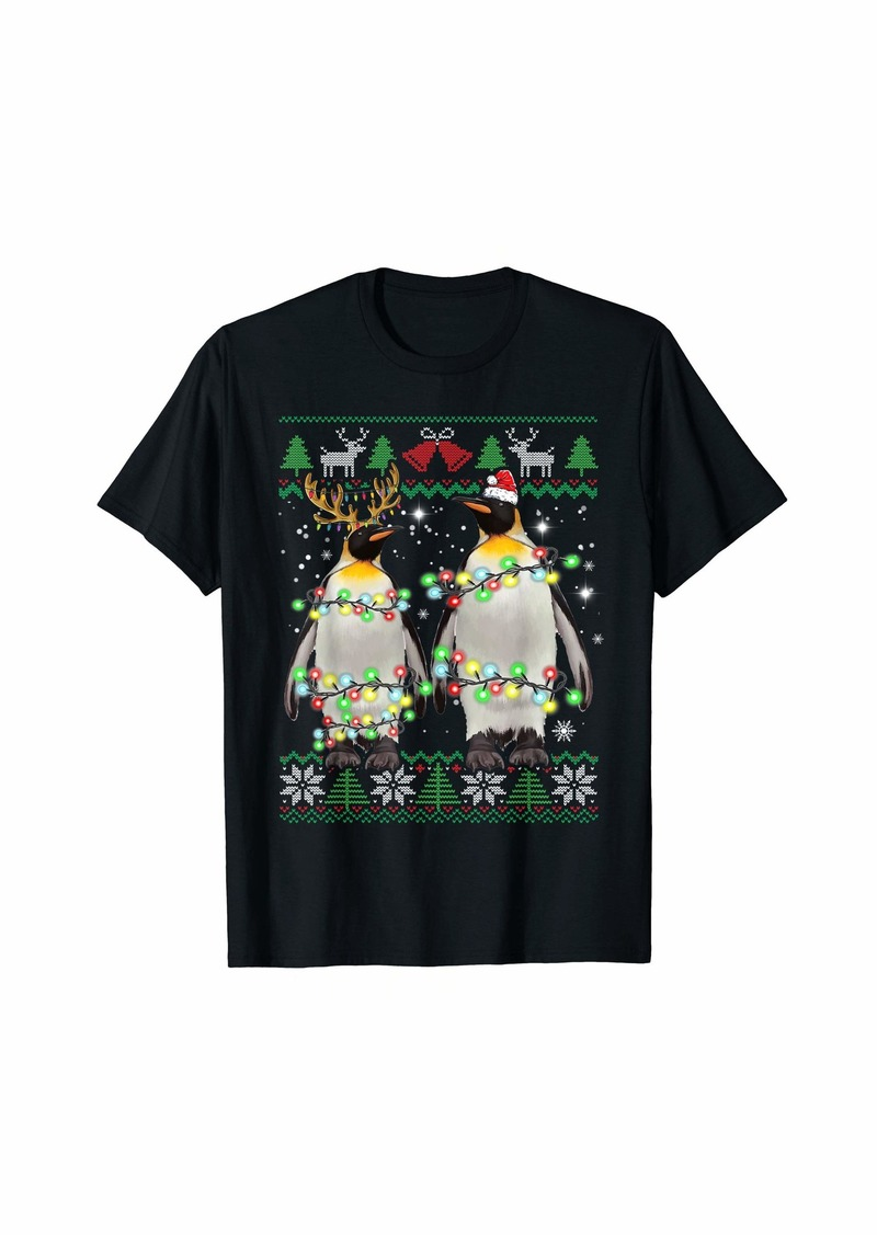 Penguin Ugly Christmas Animal Funny Penguin Christmas Gifts T-Shirt