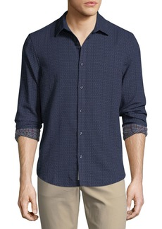 Original Penguin Pin-Dot Textured Sport Shirt