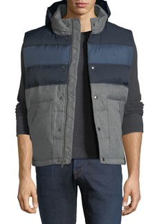 Penguin Quilted Colorblock Puffer Jacket