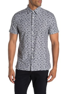 Perry Ellis Abstract Floral Slim Fit Shirt