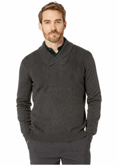 Perry Ellis Argyle Shawl Collar Long Sleeve Sweater