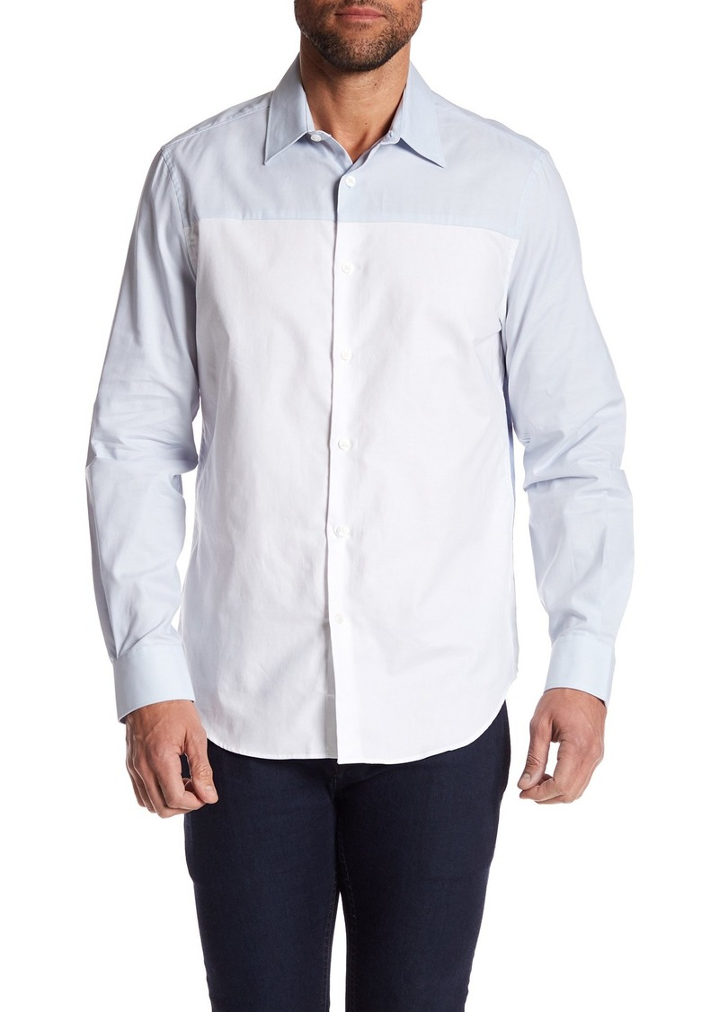 Perry Ellis Colorblock Regular Fit Shirt