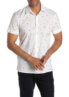 Perry Ellis Confetti Print Slim Fit Shirt