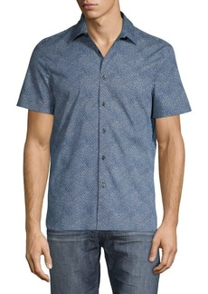 Perry Ellis Dotted Button-Down Shirt