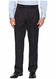 Perry Ellis Double Pleated Classic Fit Performance Dress Pants