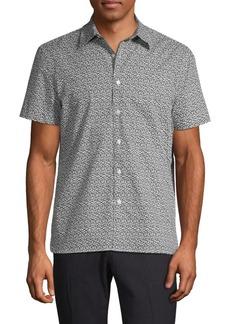 Perry Ellis Floral Short Sleeve Shirt