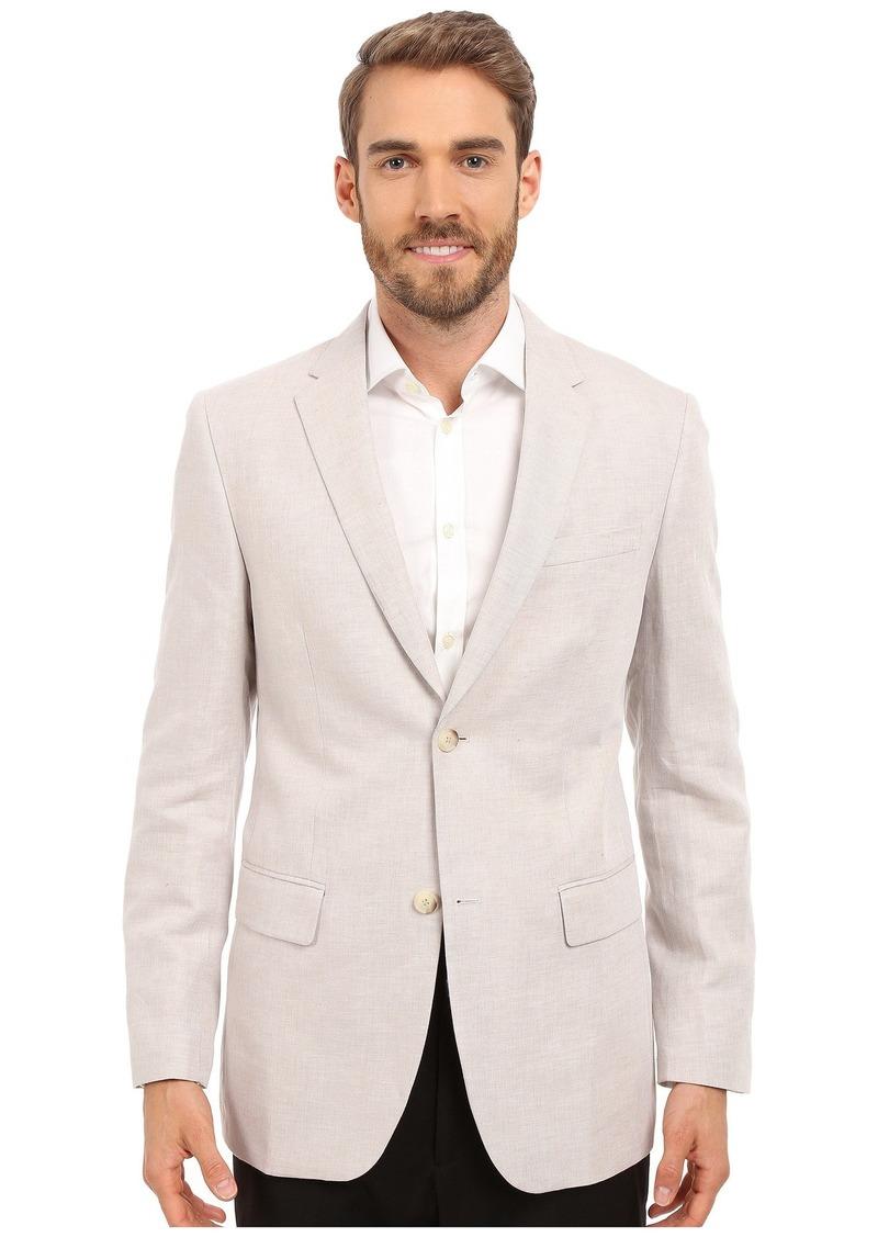 Perry Ellis Linen Suit Jacket