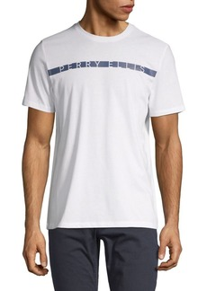 Perry Ellis Logo Stripe T-Shirt