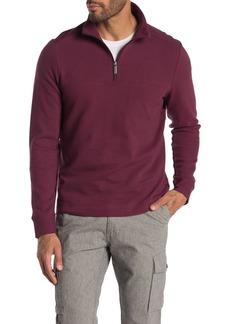 Perry Ellis Long Sleeve 1/4 Zip Pullover Sweater