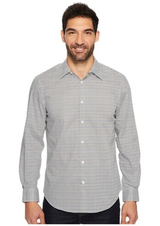 Perry Ellis Long Sleeve Modern Geo Print Shirt