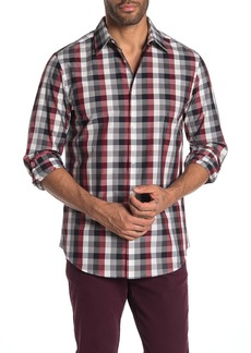 Perry Ellis Multi Check Print Slim Fit Shirt