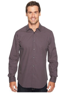 Perry Ellis Optical Mini-Ribbon Stripe Shirt