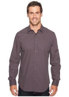 Perry Ellis Optical Mini-Ribbon Stripe Shirt