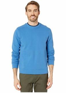 Perry Ellis Ottoman Rib Knit Long Sleeve Shirt