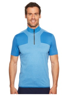 Perry Ellis PE360 Active Color Block Zip Polo