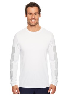 Perry Ellis PE360 Active Print Stripe Crew Tee