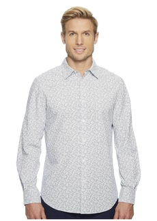 Perry Ellis Abstract Floral Shirt