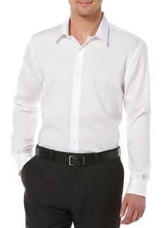 Perry Ellis Big & Tall Non-Iron Cotton Twill Shirt