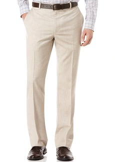 Perry Ellis Big and Tall Linen Blend Textured Pants