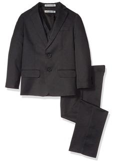 Perry Ellis Big Boys Nested Suit Jacket Vest and Pant Set