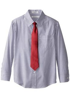 Perry Ellis Big Boys' Stripe Packaged Shirt