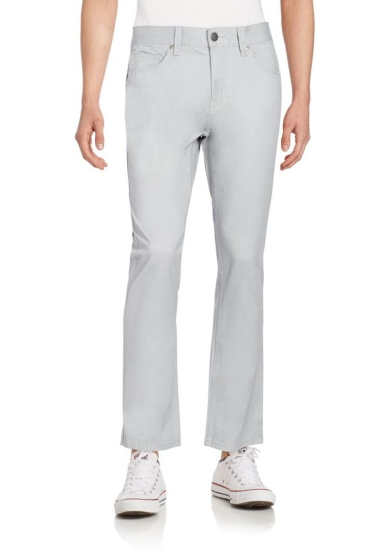 Perry Ellis Brushed Cotton Twill Pants