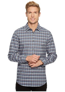 Perry Ellis Checker Plaid Shirt