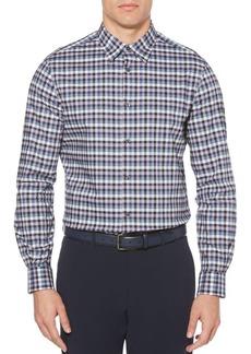 Perry Ellis Checker Plaid Shirt