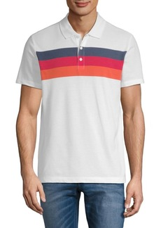 Perry Ellis Chest Stripe Polo Shirt