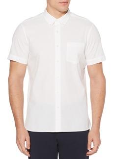 Perry Ellis Classic Cotton Button-Down Shirt