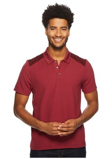 Perry Ellis Color Block Jacquard Polo